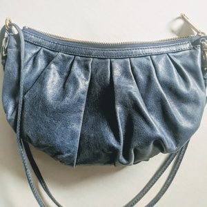 Badgley Mischka leather purse vintage crossbody